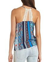 Sleeveless Tops, Knit Tank Tops, Open Back Tops, Tie Front Tops: Charlotte Russe