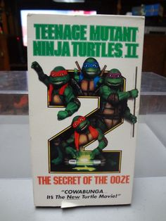 Teenage Mutant Ninja Turtles 2 - The Secret of the Ooze (VHS, 1991) - Tape Only! Description from ebay.ca. I searched for this on bing.com/images