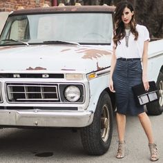 Skirts and trucks. #fashion #velvetsedge