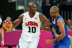 #KobeBryan & #TonyParker - Team USA/Equipe de France de #Basketball (98-71) - #JO #Londres2012