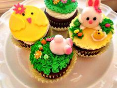 Cute Easter cupcakes!!