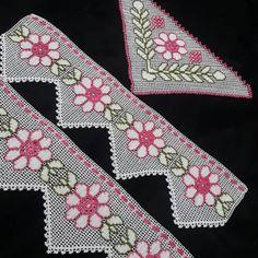 Huzur Sokağı (Yaşama Değer Hobiler) Crochet Flowers, Crochet Lace, Crewel Embroidery, Crochet Animals, Baby Knitting, Living Room Decor, Knitting Patterns, Cross Stitch, Shoulder Bag