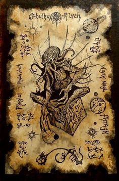 What is the best book inspired by Cthulhu have you read let me know in the comments . The art isnt mine but it is amazing Necronomicon Lovecraft, Lovecraft Cthulhu, Hp Lovecraft, Cthulhu Art, Cthulhu Tattoo, Call Of Cthulhu, Arte Horror, Horror Art, Dark Fantasy