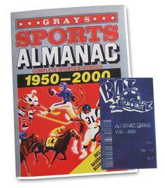 Grays Sports Almanac 1950-2000 - Only £40!!