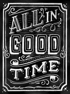 All In Good Time (Chalk) Available at Society6. © Greg Abbott Created (YMD) 2014-05-22.