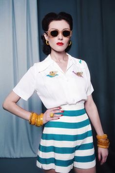 40's summery outfit