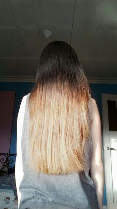 Dip dye, uhh it didn't turn out that great