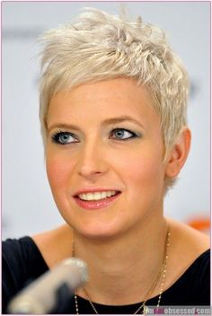 Astounding Women Hairstyles With Glasses Ideas, . - My list of women's hairstyles Short Grey Hair, Very Short Hair, Short Hair Cuts, Short Hair Styles, Pixie Cuts, Short Pixie Haircuts, Pixie Hairstyles, Cool Hairstyles, Pixie Bangs