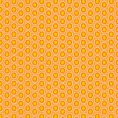 Art Gallery Fabrics - Oval Elements - Papaya Orange - HALF YARD. $4.25, via Etsy.