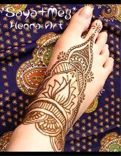 easy henna foot designs   Creative Mehndi Design-Feet 007