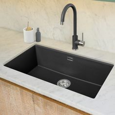 Granite Sinks available in the UK from Caple Granite Sinks, Pebble Grey, Sink Taps, Home Decor, Homemade Home Decor, Decoration Home, Interior Decorating
