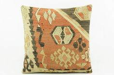 Geometric red  kilim pillow    modern accent by GalenUnique, $23.00