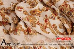 Applique with Sequin by H.P.Singh