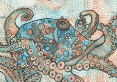 Shop for octopus art from the world's greatest living artists. All octopus artwork ships within 48 hours and includes a money-back guarantee. Choose your favorite octopus designs and purchase them as wall art, home decor, phone cases, tote bags, and more! Octopus Painting, Octopus Wall Art, Octopus Print, Octopus Bathroom, Octopus Tentacles, Fish Art, Watercolor Artists, Watercolor Artwork, Pop Art