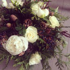 Wintery arrangement {Botany Floral Studio}