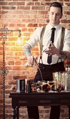 Book one of our bartenders today for your event. No matter what kind of event it is: birthday party, hen party, home party, our bartenders are ready for everything!