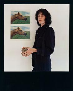 Heroine of punk   Patti Smith by Robert Mapplethorpe Polaroid