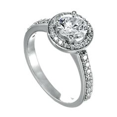 Spence Diamonds: Diamond Engagement Rings Made to  Order Style #7521