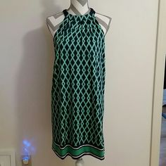 DRESS. BY .MUDPIE Ties behind the neck.  Brand new..bought on vacation in Fort Lauderdale. .pretty,  pretty. . MUDPIE  Dresses