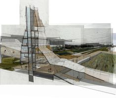ETHNO/City Layers of Urban Alterity by J Cameron Ringness, via Behance