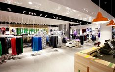 Colluseum sportswear store by Riis Retail, Odense – Denmark » Retail Design Blog
