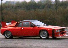 Second lancia 037 rally prototype
