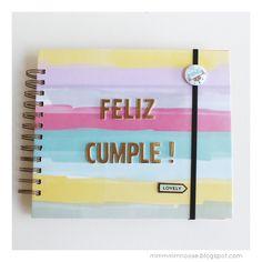 album cumpleaños scrapbook