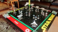 See how one fan built a most impressive Star Wars: X-Wing Miniatures game board.