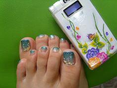 gradation toes by miyoko77us, via Flickr