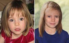 Madeleine McCann, aged three and (age-progressed) nine.jpg