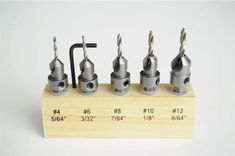 Carbide-tipped Countersinks