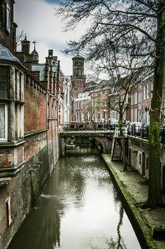 Nieuw in mijn Werk aan de Muur shop: Kromme Nieuwegracht, Utrecht