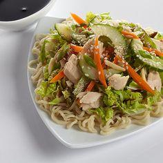 Sesame Albacore Almond Salad