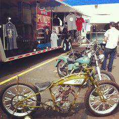 Sucker Punch Sally's - Motorcycle Mechanics Institute's Phoenix campus Garage Party during AZ Bike Week!