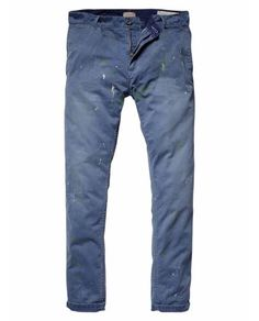 Dylan - Vintage inspired chino pants - Pants by Scoth & Soda