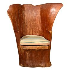 Check out the deal on Organic Wood Stump Chair at Eco First Art