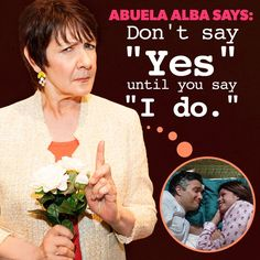 If Xo can keep her promise (so far) to Abuela, so can you. #AbuelaAlbaSays