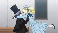 Ciel x Lizzy moments in the Book of Atlantic traile