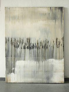 """Christian Hetzel : """"Flow"""" ,Mixed media on canvas"""