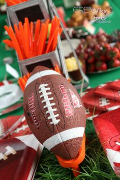"""Photo 15 of 52: Football Tailgate / Birthday """"Tate's Tail8 Party"""" 