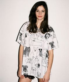 Lazy Oaf Dogs Slob T-shirt