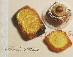 Tiny Food, Fake Food, Food Sculpture, Bakery Cafe, Good Enough To Eat, Mini Things, Mini Desserts, Miniture Things, Miniature Food
