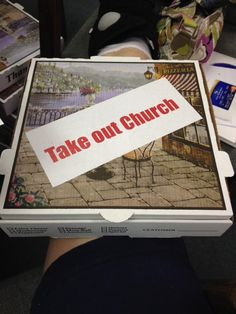Take out Church - A new way to engage families in spiritual formation during the summer time.