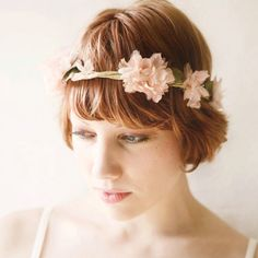 woodland wedding flower crown 'folklore' par whichgoose sur Etsy. $85,00 USD, via Etsy.