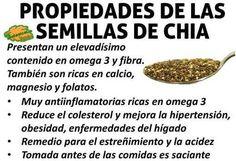 propiedades medicinales y beneficios de las semillas de chia