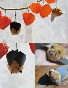 Pompom Bats Copyright © 2014 FUNFUNFUNGI (Mieko Fukuhara)