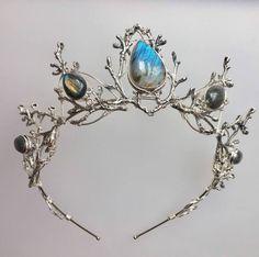 Labradorite tiara