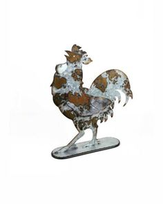 wood pig chicken rooster frog metal flower country farmhouse kitchen decor sign