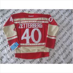 Detroit Red Wings  40 Zetterberg Red 2014 Winter Classic Womens NHL Jersey  820103337403 on eBid e1d3a2996b3