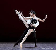 Roberto Bolle with Polina Semionova in Carmen